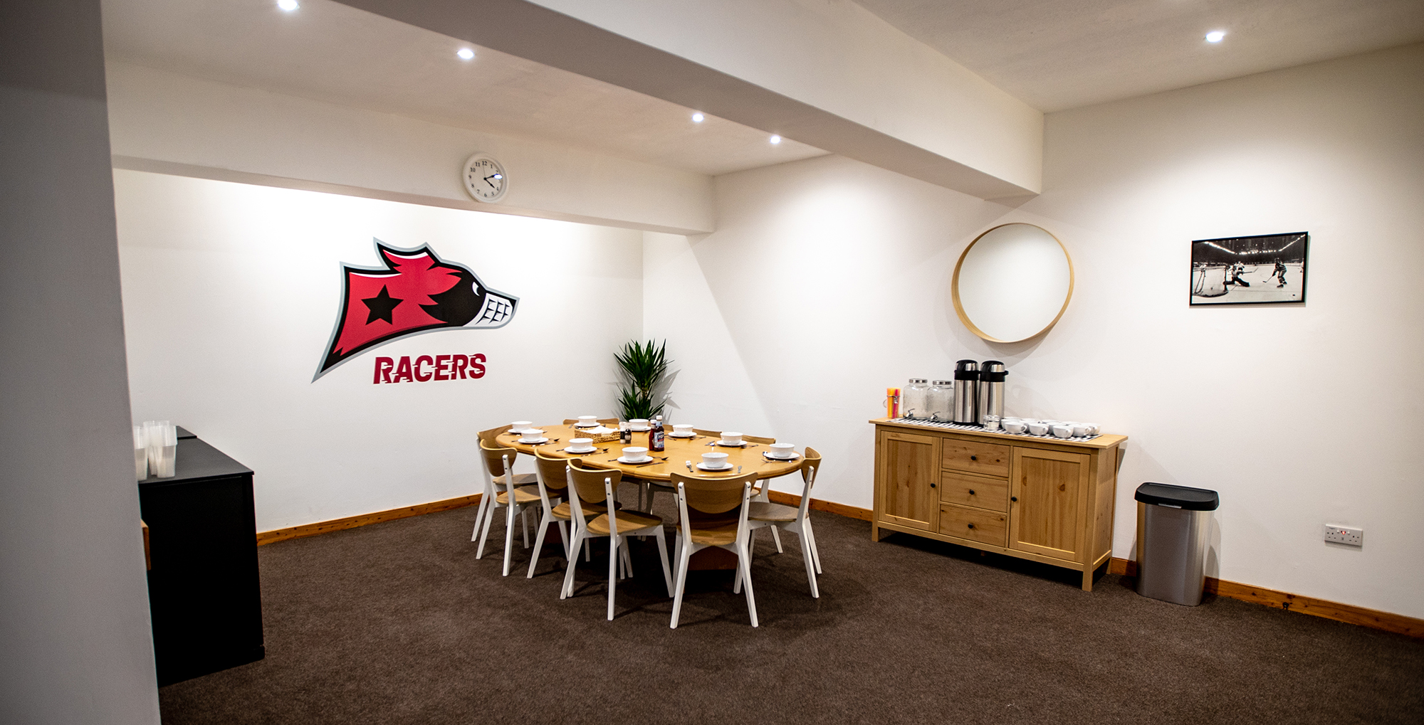 Murrayfield Racers KC Sponsors Lounge