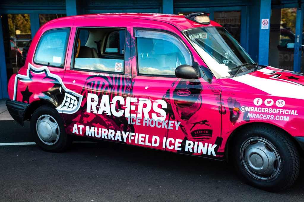 Murrayfield Racers Taxi