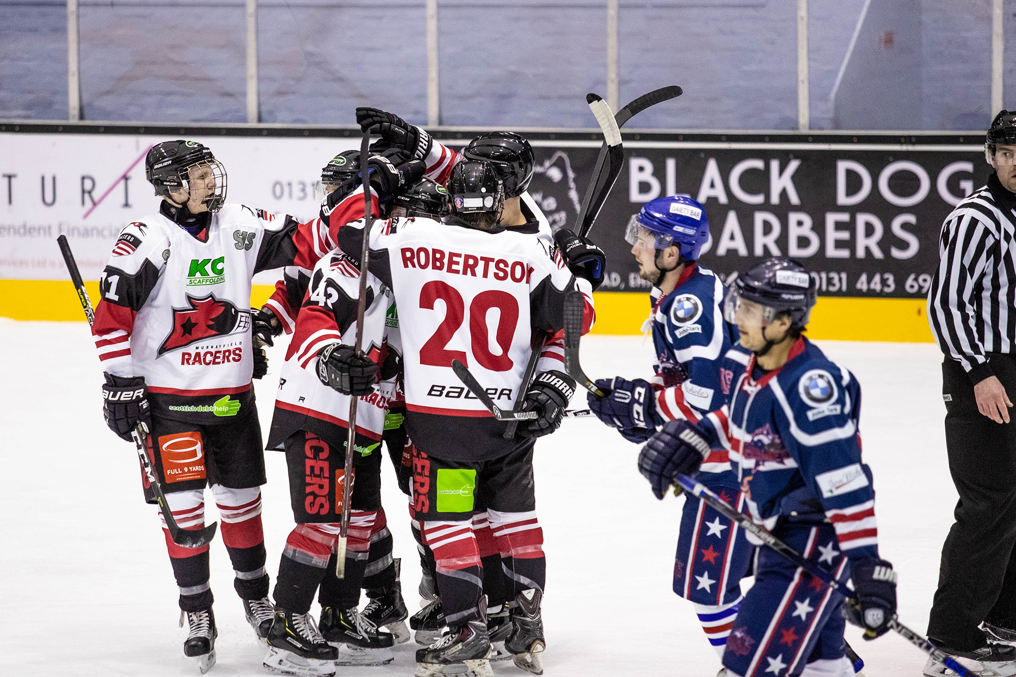Murrayfield Racers vs Dundee Comets